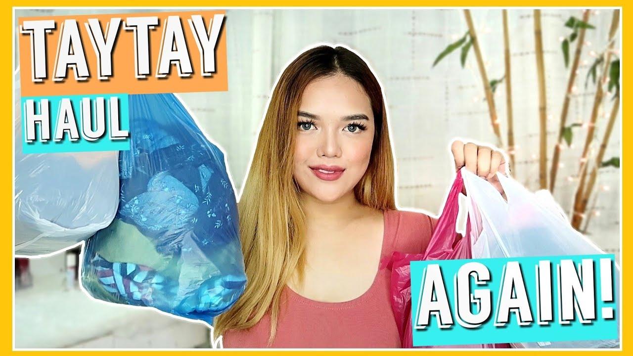 TAYTAY TIANGGE CLOTHING HAUL! (Ang SUKI ng TAYTAY!)   Philippines