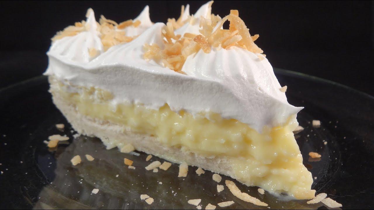 Coconut Cream Pie - with yoyomax12 - YouTube