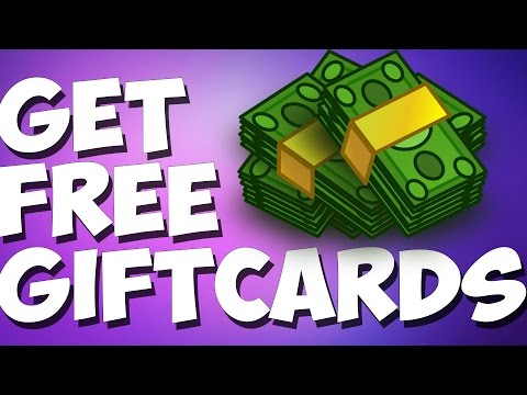 How To Get FREE Gift Cards LEGIT WAY! 2016 Free Amazon. Paypal. Playstore. iTunes & More Gift Cards