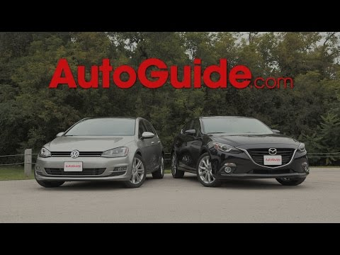 2015 Mazda3 vs. 2015 Volkswagen Golf