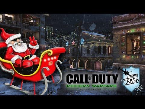 PAPAI NOEL VIROU UM KILLSTREAK DO COD! - MWR Winter Crash Gameplay