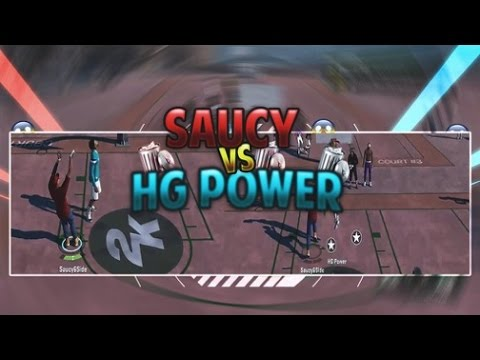 SaucyGotHeat vs HG Power 1v1 (Power cheats and still loses) Exposing Legend 5 HG POWER - NBA 2K16