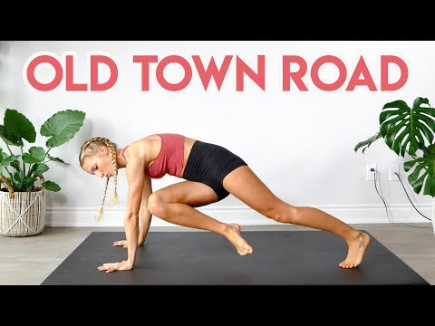 Download Lagu  Lil Nas X - Old Town Road feat. Billy Ray Cyrus Remix FULL BODY WORKOUT ROUTINE Mp3 Free