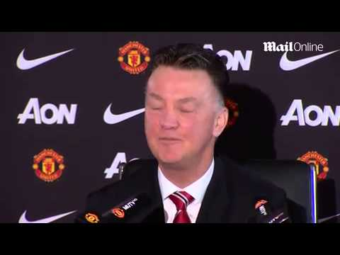 Louis van Gaal in extremely good spirits ahead of Swansea clash