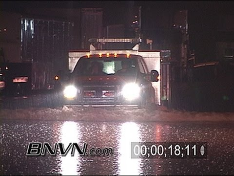 8/19/2007 Owatonna MN Flash Flooding Footage From Overnight Storms
