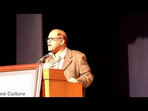 Goa Chief Minister Digambar Kamat  speaking..