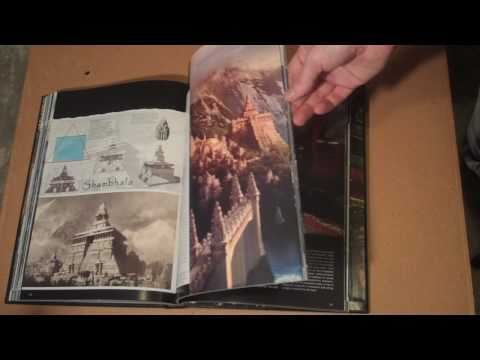 Uncharted 2 Limited Folio Edition Art Book