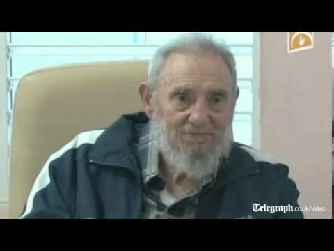 Fidel Castro emotional listening to Hugo Chavez song