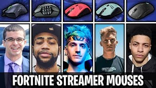 What Mouse Fortnite Streamers Use (Tfue, Ninja, Myth, NickEh30, Daequan)