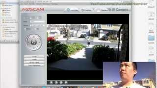 Foscam FI9821W Wireless IP Camera Review with Day & Night Video Stream Test