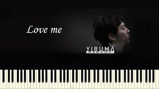 Yiruma Love Me Piano Tutorial