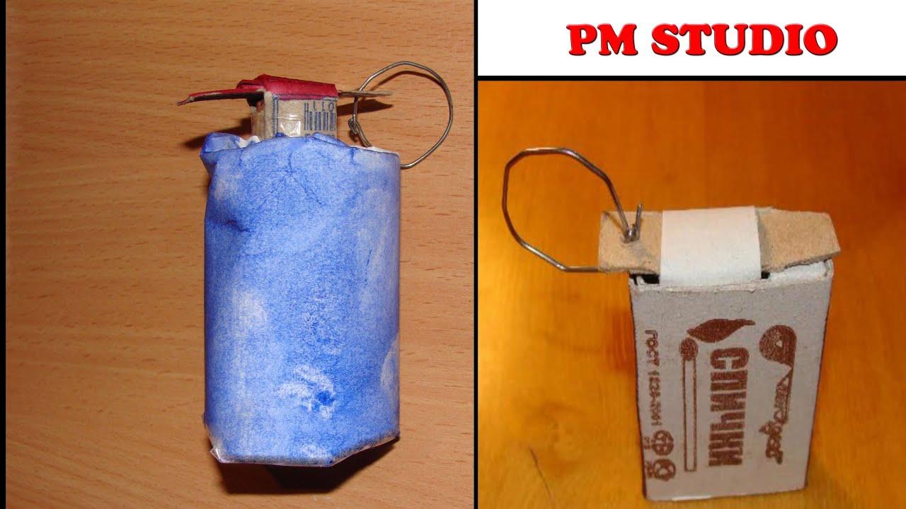 Как сделать бомбочку из серы спичек