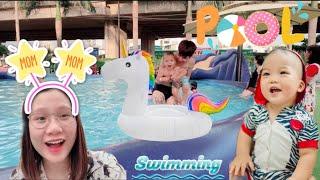 Thanh Trần Dẫn Con Đi Bơi Cười Muốn Xỉu | Thanh Trần Official