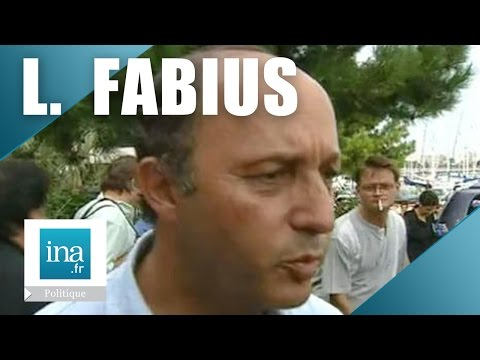 Portrait de Laurent Fabius | Archive INA