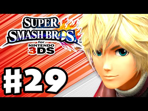 Super Smash Bros. 3DS - Gameplay Walkthrough Part 29 - Shulk! (Nintendo 3DS Gameplay)