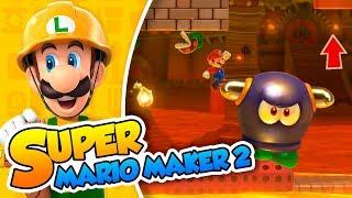 ¡Un vistazo a niveles creados por Nintendo! - Super Mario Maker 2 (Switch) DSimphony