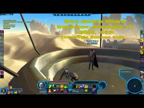 SWTOR Datacron Locations - Tatooine (Republic)