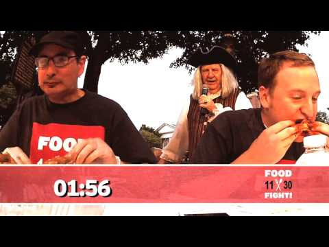 Food Fight on 11/30 Episode 3 - Special Hot Wings Eating Competition