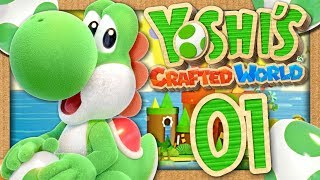 YOSHI'S CRAFTED WORLD EPISODE 1 CO-OP : L'AVENTURE COMMENCE ! (NINTENDO SWITCH FR)
