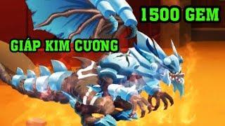 Dùng 1500 Gem Nâng 4 Sao Cho Rồng Huyền Thoại Và Trang Phục Xịn| Dragon City
