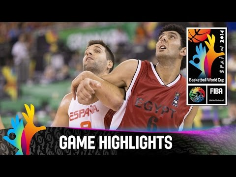 Spain v Egypt - Game Highlights - Group A - 2014 FIBA Basketball World Cup