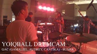 Download lagu GAC (Gamaliél Audrey Cantika) - SUARA (YOIQBALL DRUMCAM) gratis