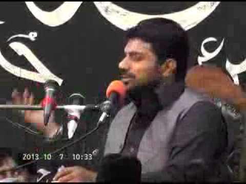 Allama Asif Raza Alvi ,5th majlis Ashra muharam 1436 hijri 2014 19 Block Sargodha