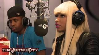 Westwood - Nicki Minaj in the UK!