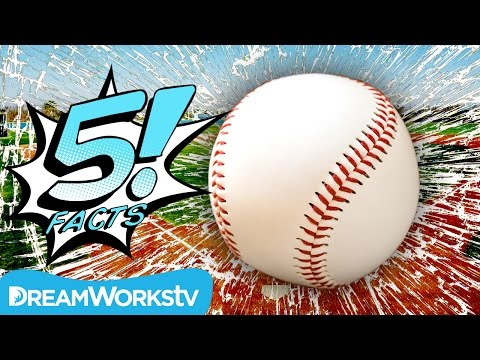 5 Incredible BASEBALL Facts | 5 FACTS
