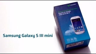 Unboxing Samsung Galaxy S III Mini con Movistar