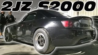 2JZ S2000 on Texas Streets - BOOSTED NIGHTS!