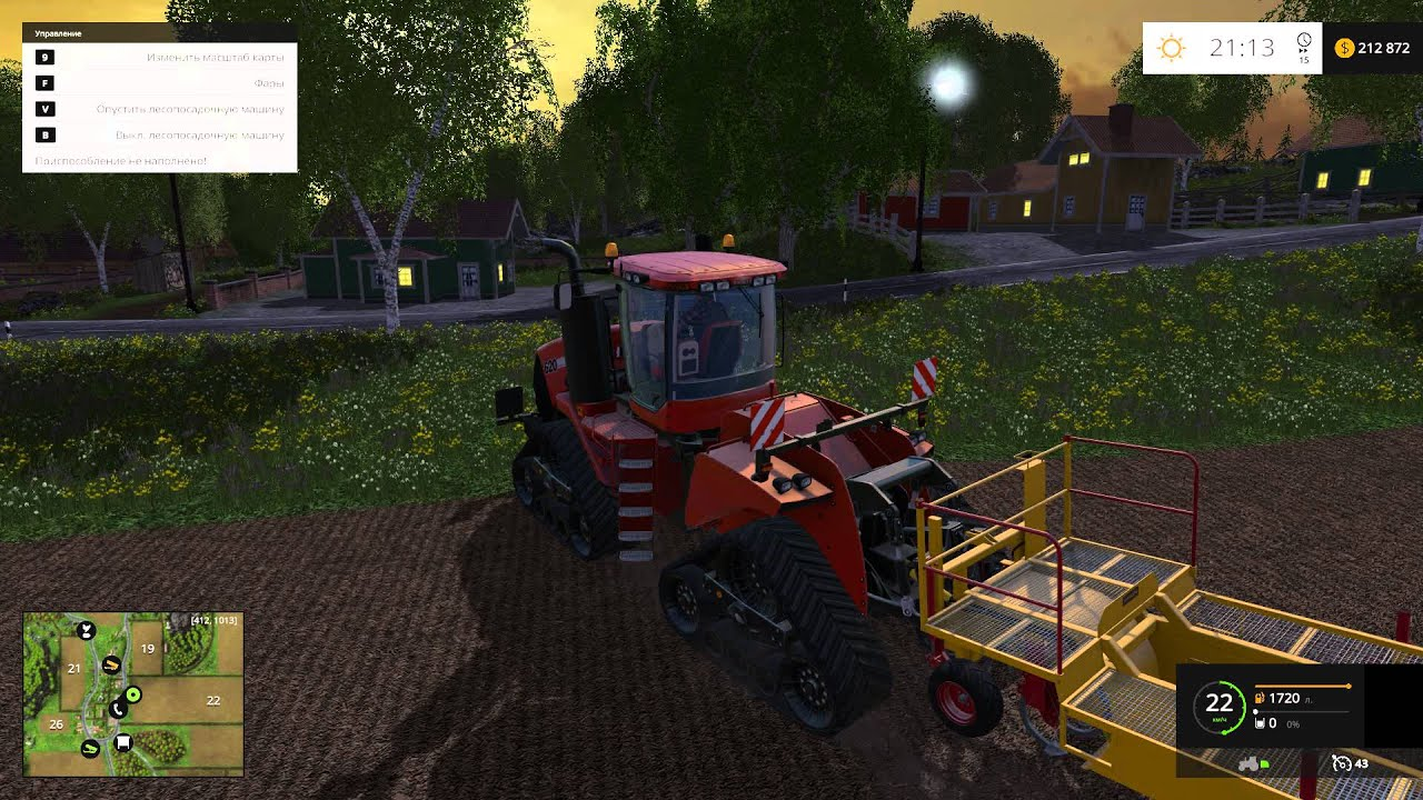 Гайд Farming Simulator 2017. От посева до уборки урожая 64