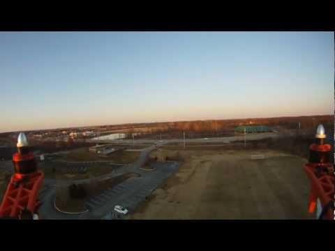 Flame Wheel 450 Quadcopter with DJI NAZA Controller