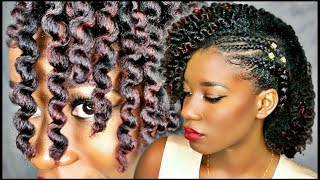 FULL WASH & STYLE with DEFINED TWIST OUT | ft. Kurlee Belle