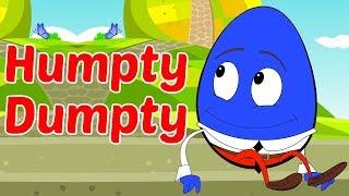 Humpty Dumpty Sáb Em Um Muro   Nursery Rhymes   Toddlers Toons Português   canção crianças