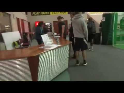 New Zealand Institute of Sport Indoor netball team ..