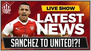Alexis SANCHEZ To MANCHESTER UNITED! Transfer News