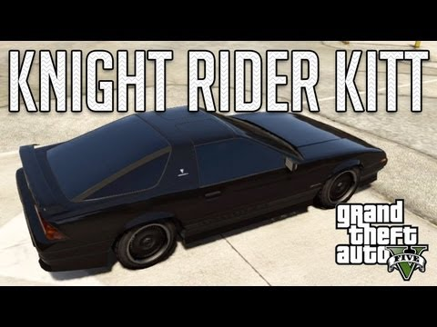 Knight Rider KITT (Imponte Ruiner) : GTA V Custom Car Build