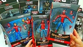 SPIDER-MAN HOMECOMING Marvel Legends Complete Set! Vulture Build a Figure