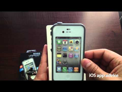 White LifeProof case for iPhone 4 & 4S unboxing (2nd Gen)