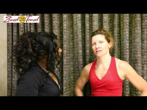 Zoned2BToned - Tracy Hess Interviews Trainer Tracy Andrusko