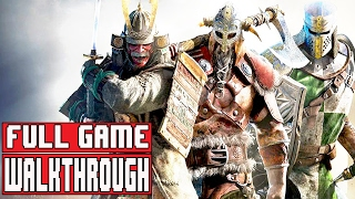For Honor Gameplay Walkthrough Part 1 Campaign FULL GAME (1080p) - No Commentary