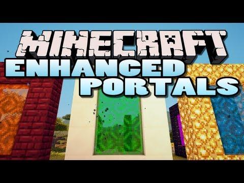 Minecraft: Enhanced Portals Mod