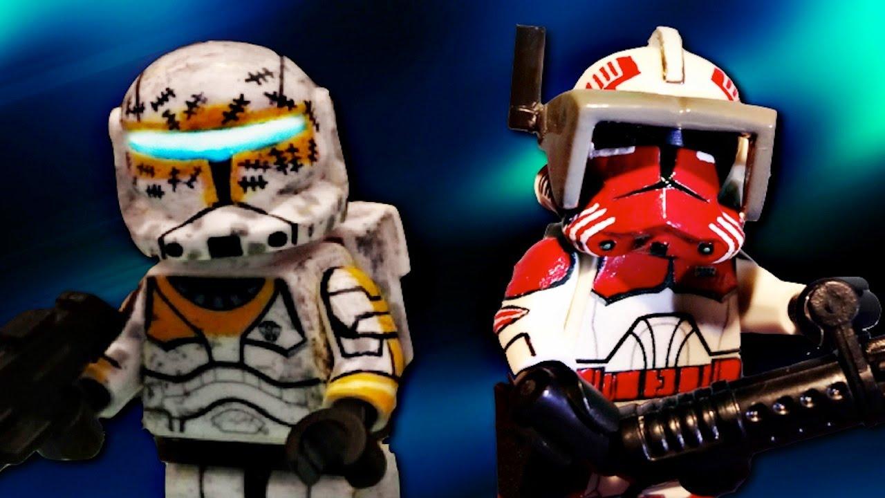 Custom Lego Star Wars Clone Commandos Lego Star Wars The Clone