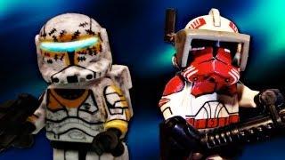 LEGO Star Wars : The Clone Wars | Custom Commando Gregor & Commander Thorn - Showcase