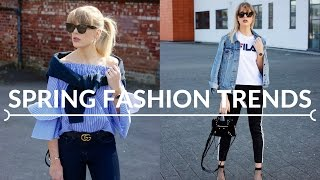 SPRING FASHION TRENDS On The High Street Now | Topshop, H&M, Missguided, Urban Outfitters