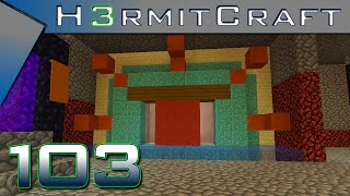 HermitCraft 3 Amplified ~ Ep 103 ~ That Entrance Though!