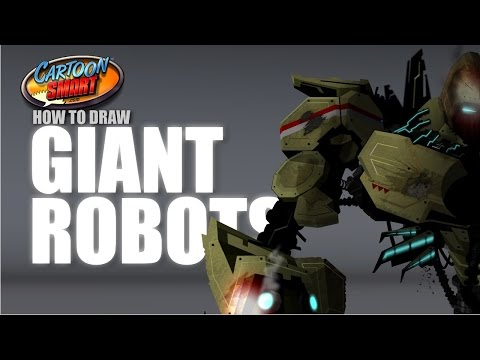 How to Draw Giant Robots in Adobe Flash – Session 6 – 04 Edging
