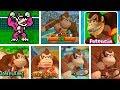 Mario Tennis 2000 / 2018 | Donkey Kong Evolution | Evolución de Donkey Kong