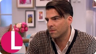 Zachary Quinto Emotionally Opens Up About The Death Of Anton Yelchin | Lorraine